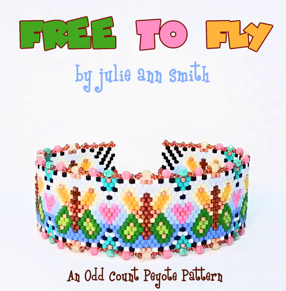 FREE TO FLY Bracelet Pattern