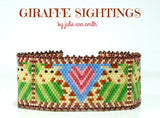 GIRAFFE SIGHTINGS Bracelet Pattern
