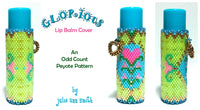 GLORIOUS Lip Balm Cover Pattern