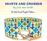 HEARTS AND CROSSES Bracelet Pattern