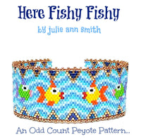 HERE FISHY FISHY Bracelet Pattern