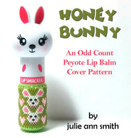 HONEY BUNNY Lip Balm Cover Pattern