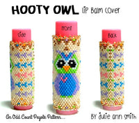 HOOTY OWL Lip Balm Cover Pattern