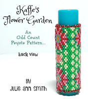KAFFE'S FLOWER GARDEN Lip Balm Cover Pattern