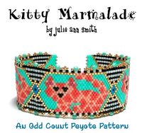 KITTY MARMALADE Bracelet Pattern