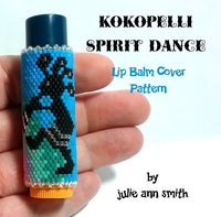 KOKOPELLI SPIRIT DANCE Lip Balm Cover Pattern
