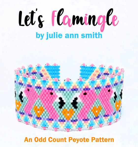 LET'S FLAMINGLE Bracelet Pattern