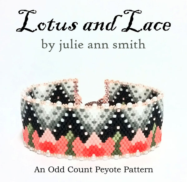 LOTUS AND LACE Bracelet Pattern