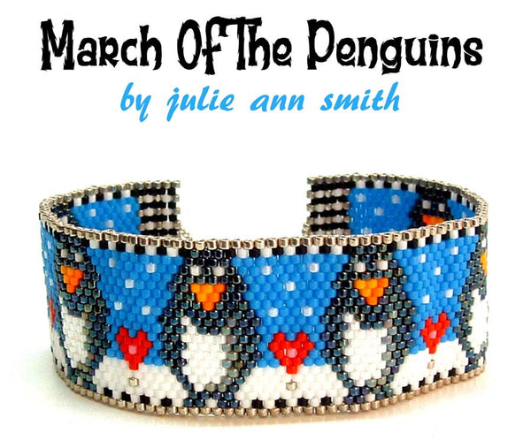 MARCH OF THE PENGUINS Bracelet Pattern