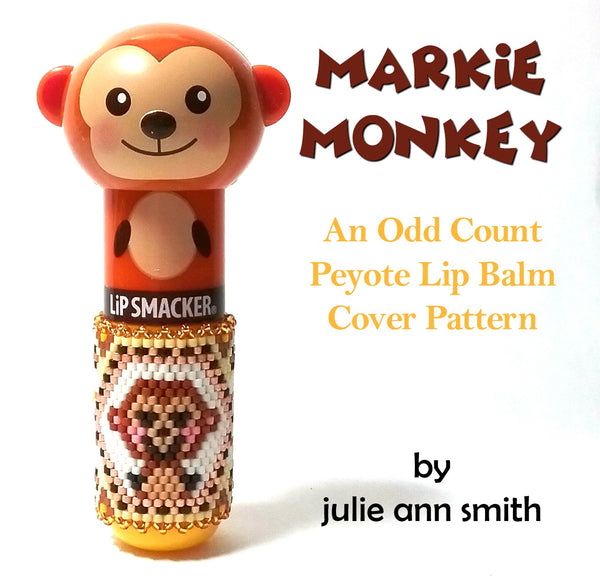 MARKIE MONKEY Lip Balm Cover Pattern