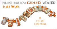 MARSHMALLOW CARAMEL WINTER Carrier Bead Patterns
