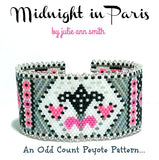MIDNIGHT IN PARIS Bracelet Pattern