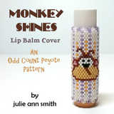 MONKEY SHINES Lip Balm Cover Pattern