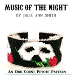 MUSIC OF THE NIGHT Bracelet Pattern