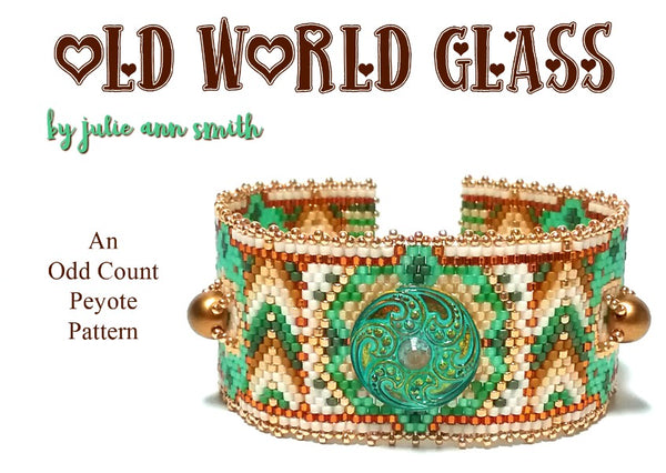 OLD WORLD GLASS Bracelet Pattern
