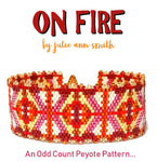 ON FIRE Bracelet Pattern