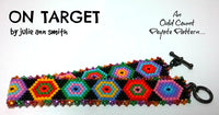 ON TARGET Skinny Mini Bracelet Pattern