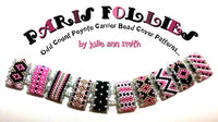 PARIS FOLLIES Carrier Bead Patterns