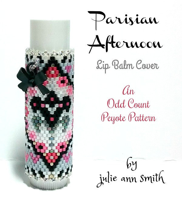 Parisian Afternoon Lip Balm Cover Pattern Julie Ann Smith
