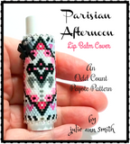 PARISIAN AFTERNOON Lip Balm Cover Pattern