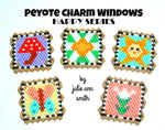 HAPPY SERIES Peyote Charm Windows Pattern