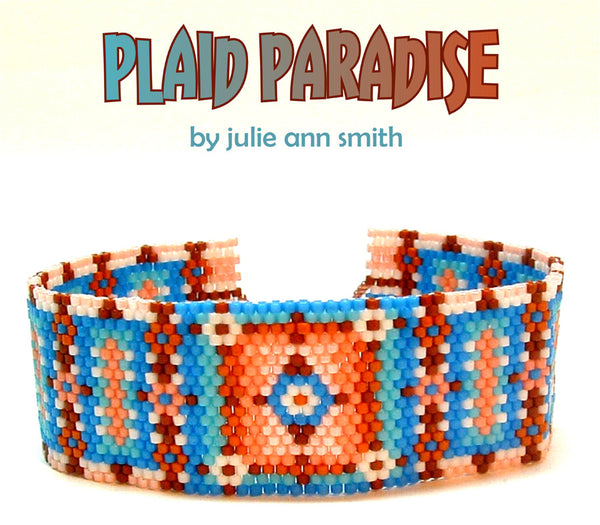 PLAID PARADISE Bracelet Pattern