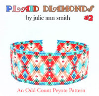 PLAID DIAMONDS Bracelet Pattern