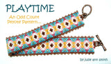 PLAYTIME Skinny Mini Bracelet Pattern
