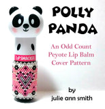 POLLY PANDA Lip Balm Cover Pattern
