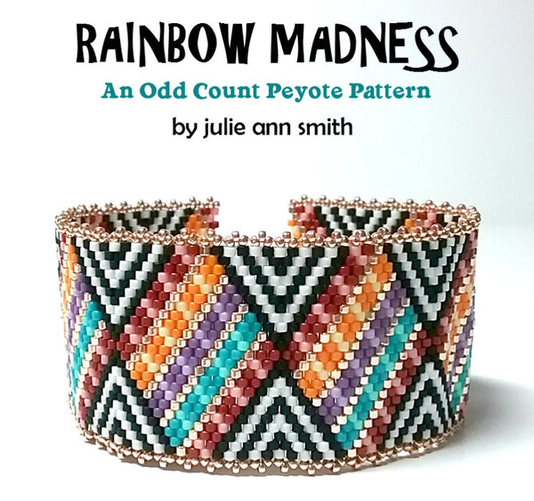 RAINBOW MADNESS Bracelet Pattern