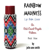 RAINBOW MADNESS Lip Balm Cover Pattern