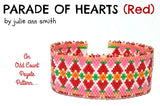 PARADE OF HEARTS Bracelet Pattern