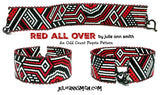 RED ALL OVER Bracelet Pattern