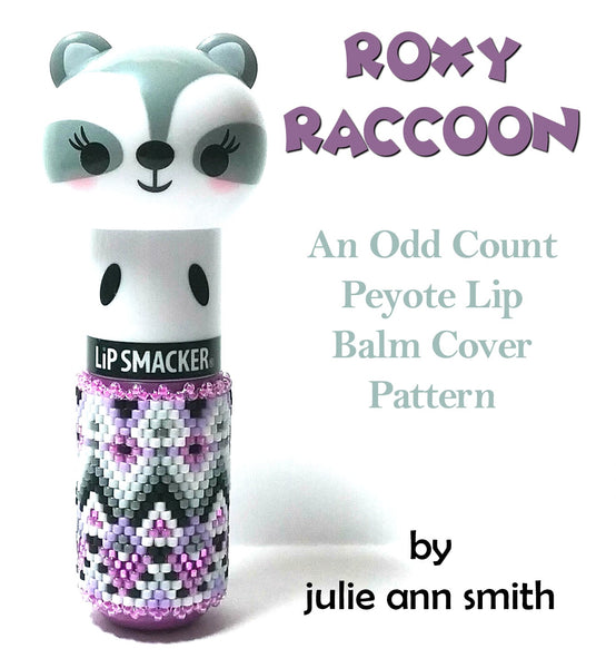 ROXY RACCOON Lip Balm Cover Pattern