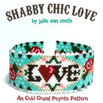 SHABBY CHIC LOVE Bracelet Pattern