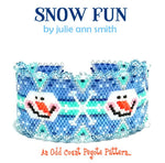 SNOW FUN Bracelet Pattern