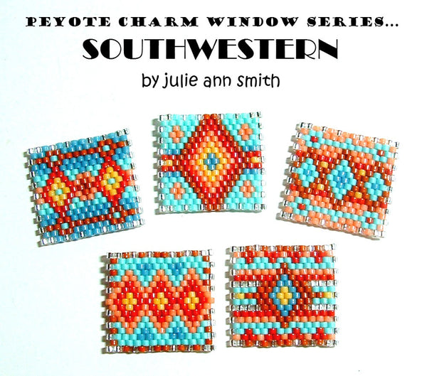 SOUTHWESTERN Peyote Charm Windows Pattern