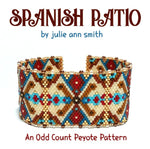 SPANISH PATIO Bracelet Pattern