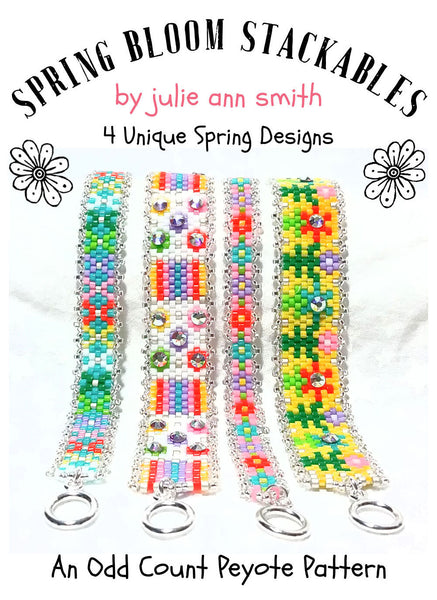 SPRING BLOOM STACKABLES Bracelet Pattern