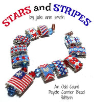 STARS AND STRIPES Carrier Bead Patterns