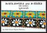 SUNFLOWERS AND DAISIES-THE SERIES Bracelet Pattern