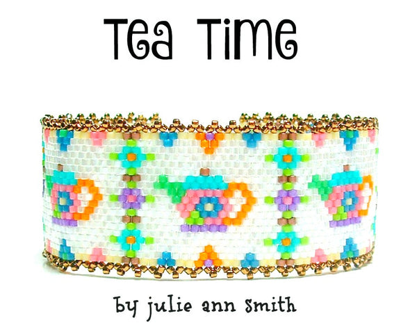 TEA TIME Bracelet Pattern