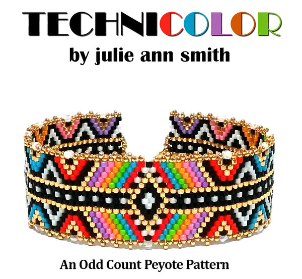 TECHNICOLOR Bracelet Pattern