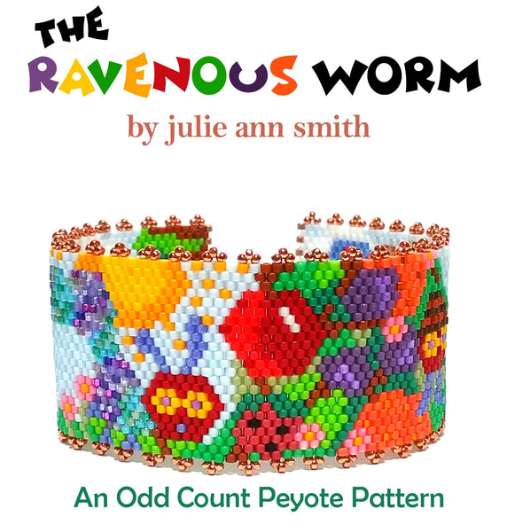 THE RAVENOUS WORM Bracelet Pattern