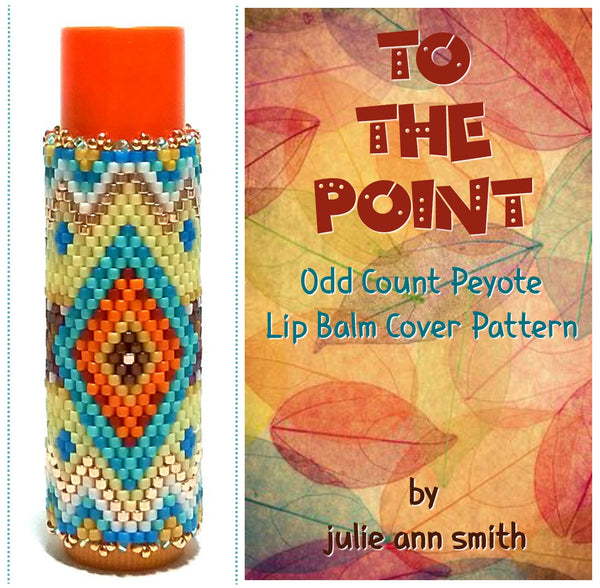 TO THE POINT Lip Balm Cover Pattern