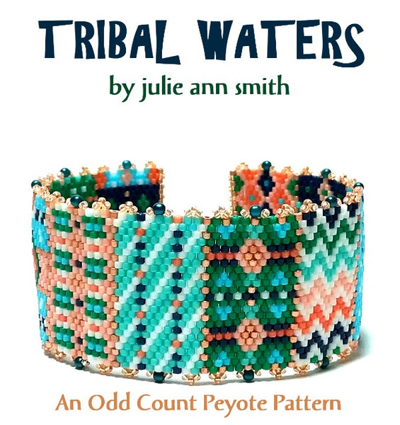 TRIBAL WATERS Bracelet Pattern
