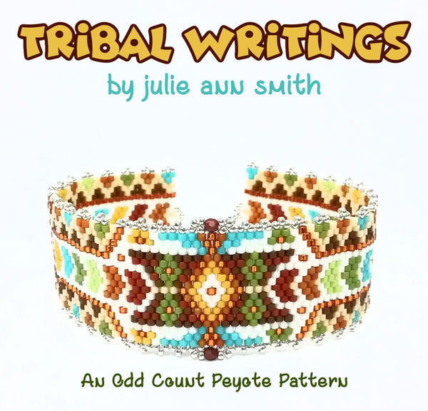 TRIBAL WRITINGS Bracelet Pattern AND Mini Beads Pattern