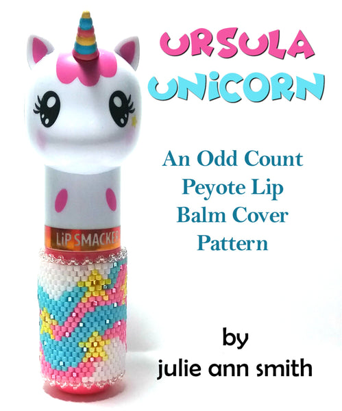 URSULA UNICORN Lip Balm Cover Pattern