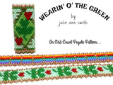 WEARIN' O' THE GREEN Slider Bracelet Pattern