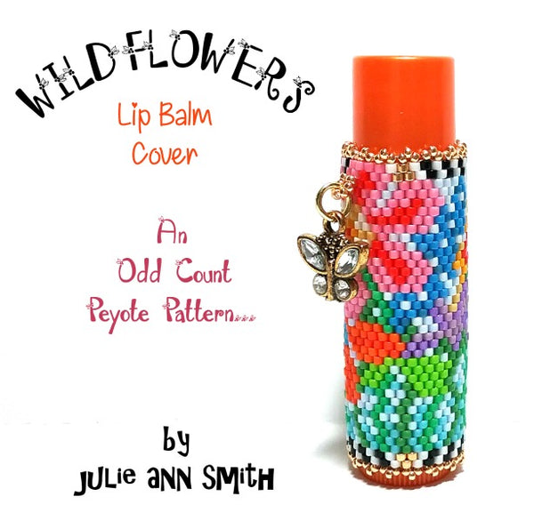 WILDFLOWERS Lip Balm Cover Pattern